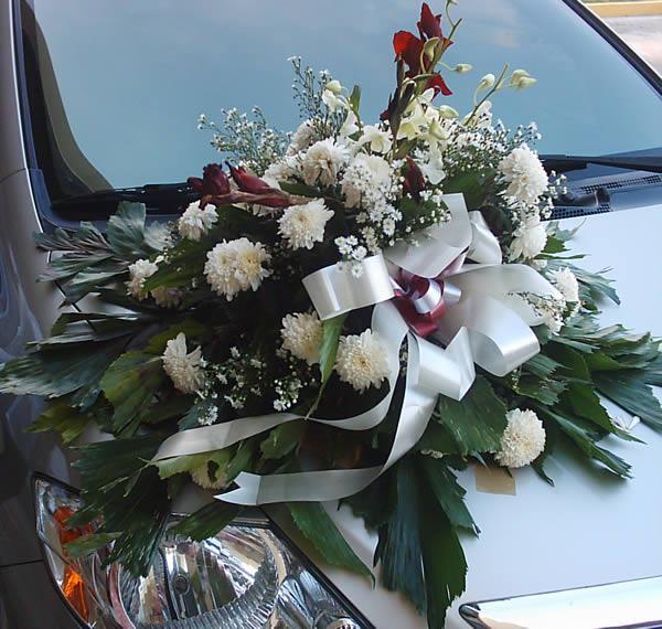 decoration-fleurs-voiture-cortege