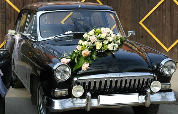 decoration voiture mariage fleur ventouse. Black Bedroom Furniture Sets. Home Design Ideas