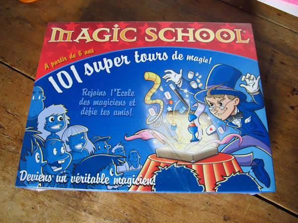 jeu magic school
