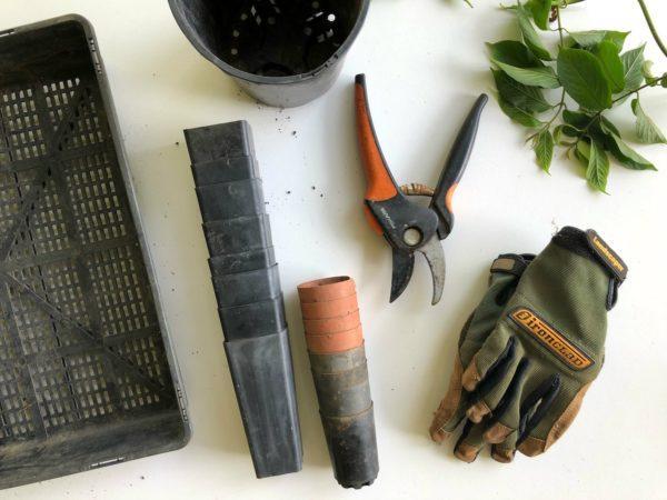 outils pour l'entretien de son jardin