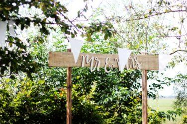 mariage bohème au jardin
