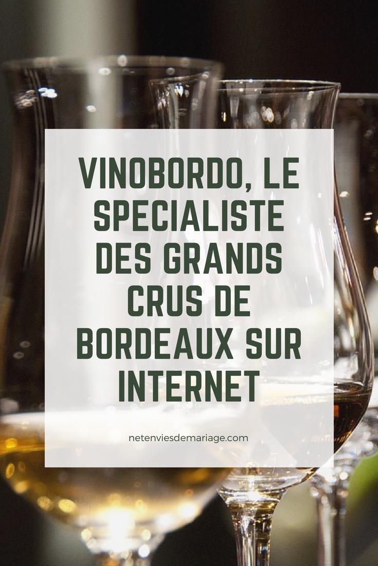 Vinobordo, spécialiste des grands crus de Bordeaux sur Internet